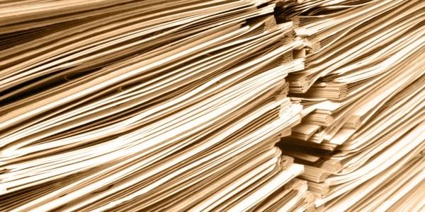 Papierberge