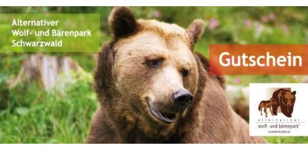 Gutschein Alternativer Wolf- und Bärenpark Schwarzwald