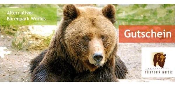 Gutschein Alternativer Bärenpark Worbis