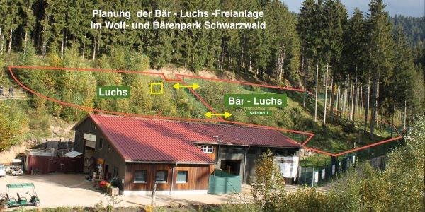 Luchs-Bär-Freinanlage