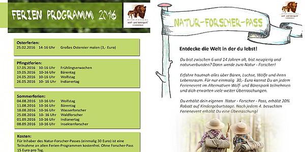 Ferienprogramm Schwarzwald