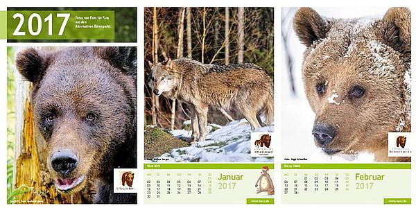 Bärenkalender 2017